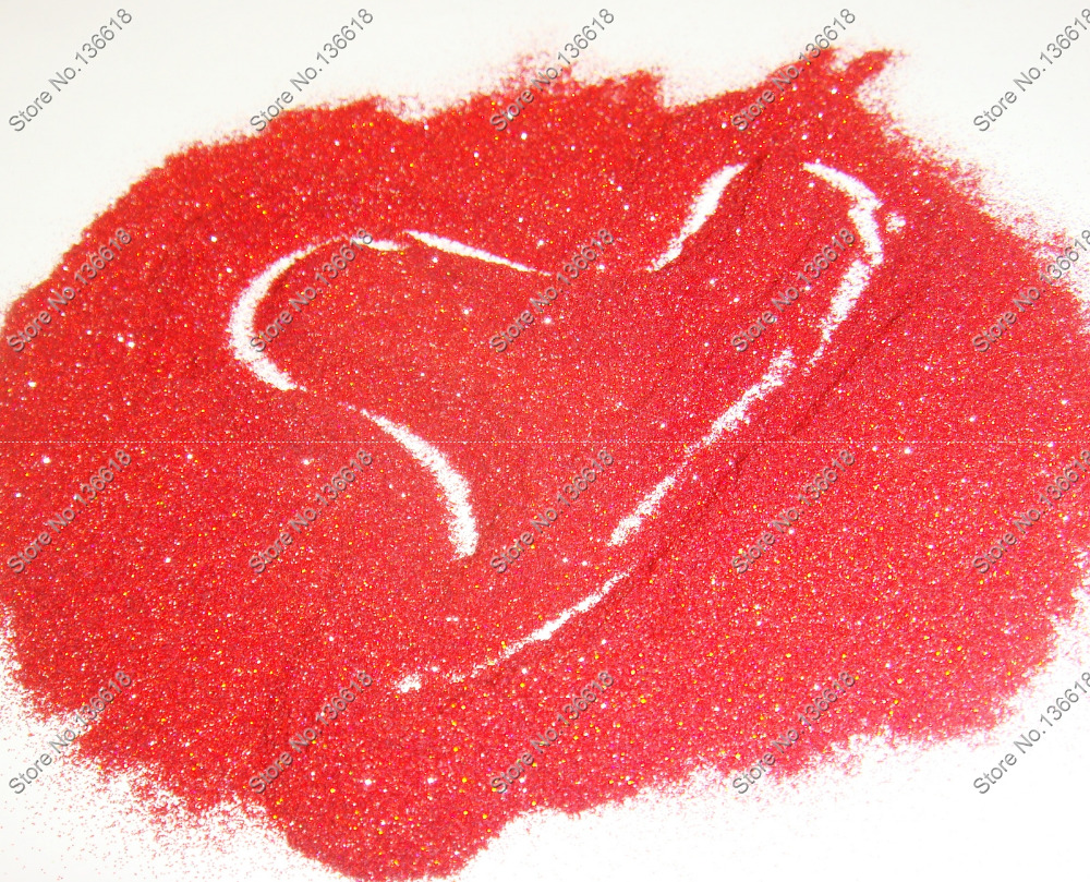 """50g/bag x 1/256""""(0.1mm) Holographic Laser Red Color Shining Fine Nail Glitter Dust Powder for DIY Nail Art&Glitter Craft(China (Mainland))"""