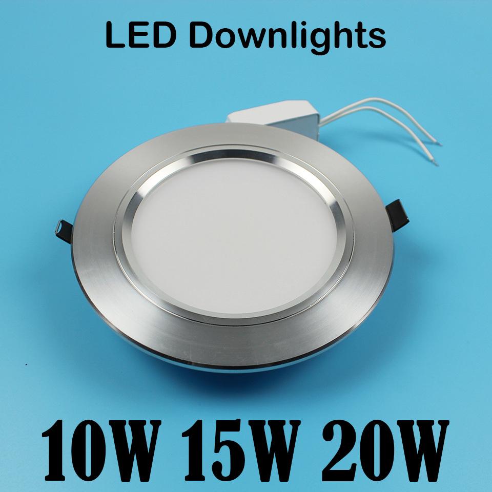 Гаджет  1PCS  led downlight 20LED 30LED 40 LED  5730SMD 165-265V Constant current drive None Свет и освещение