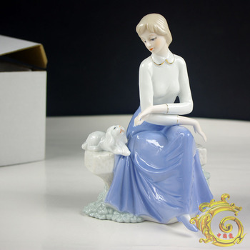 Female ceramic living room decoration new house accessories gift casual