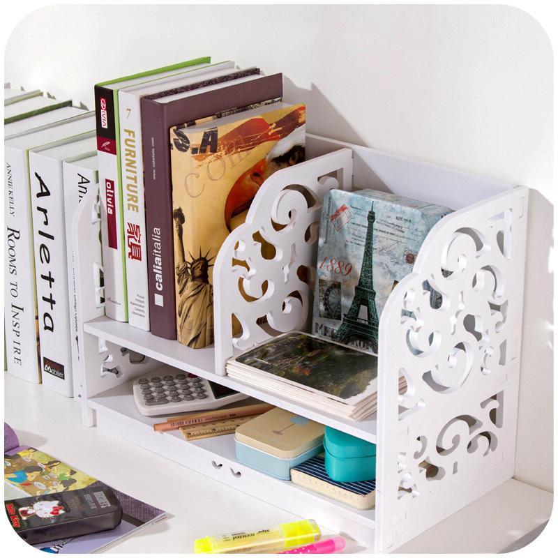 Dormitory Desk Storage Rack Desktop Creative Finishing Debris Multi Layered Small Bookshelf