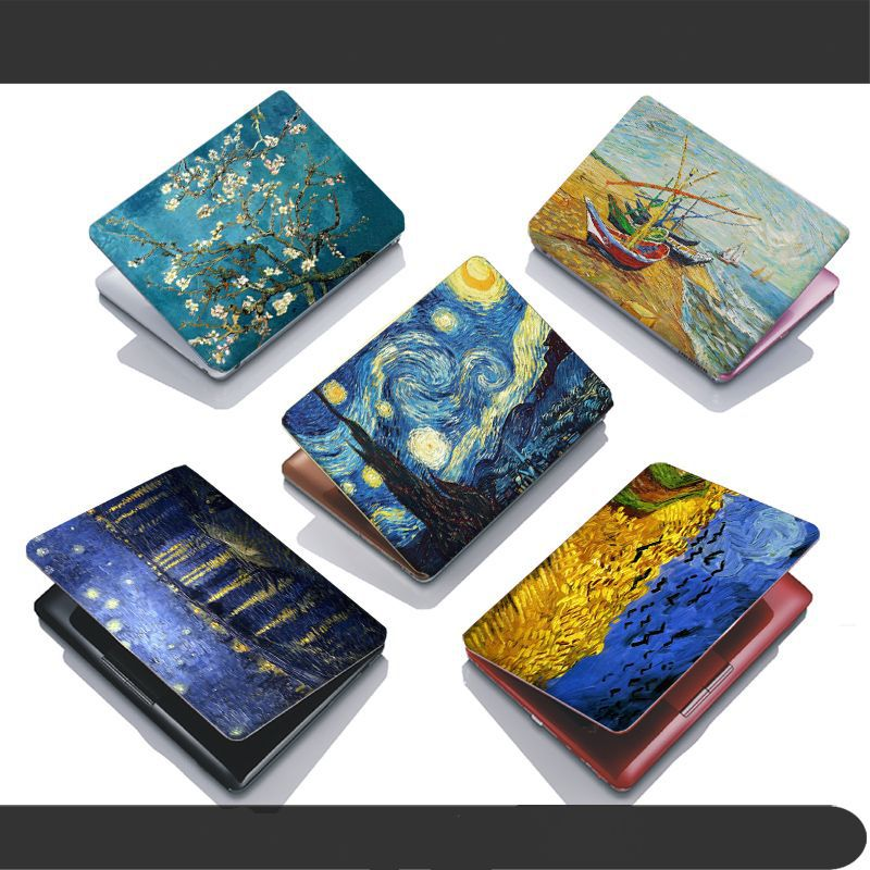 Notebook computer case film 10 15.6 inch computer sticker outside protective cover laptop ipad Van Gogh painting(China (Mainland))