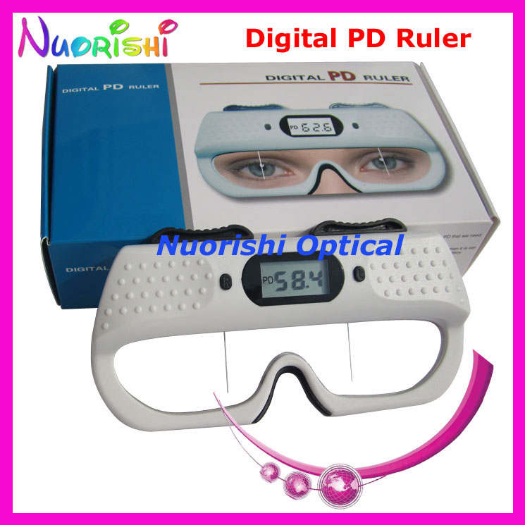 ce approval optometry ruler digital ophthalmic pupilometer pd ruler measurer tester he710 lowest shipping cost