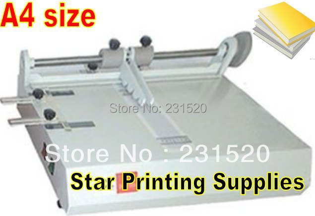 Book Covering Machine : Hard cover making machine a szie for photo book