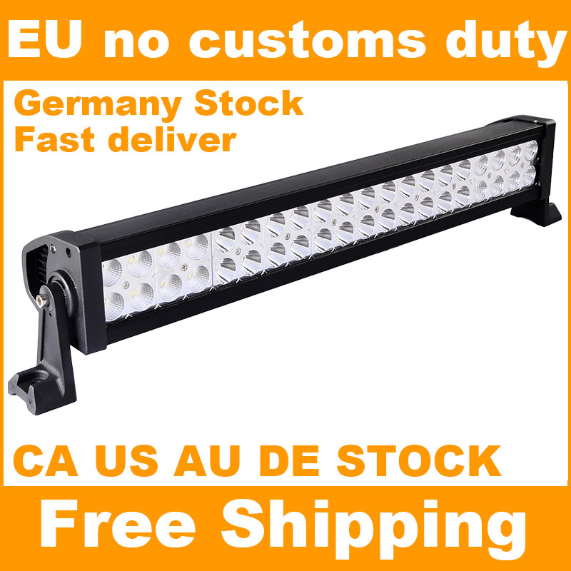 120W 22 inch Offroad LED Work Light Bar for Driving Tractor Boat Truck SUV ATV Car Garden Backyard 12V 24V LED Bar(China (Mainland))