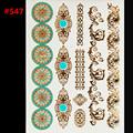 circle jewelry sticker tattoo metallic golden flash tattoos tattoo large temporary tattoo prices sticker