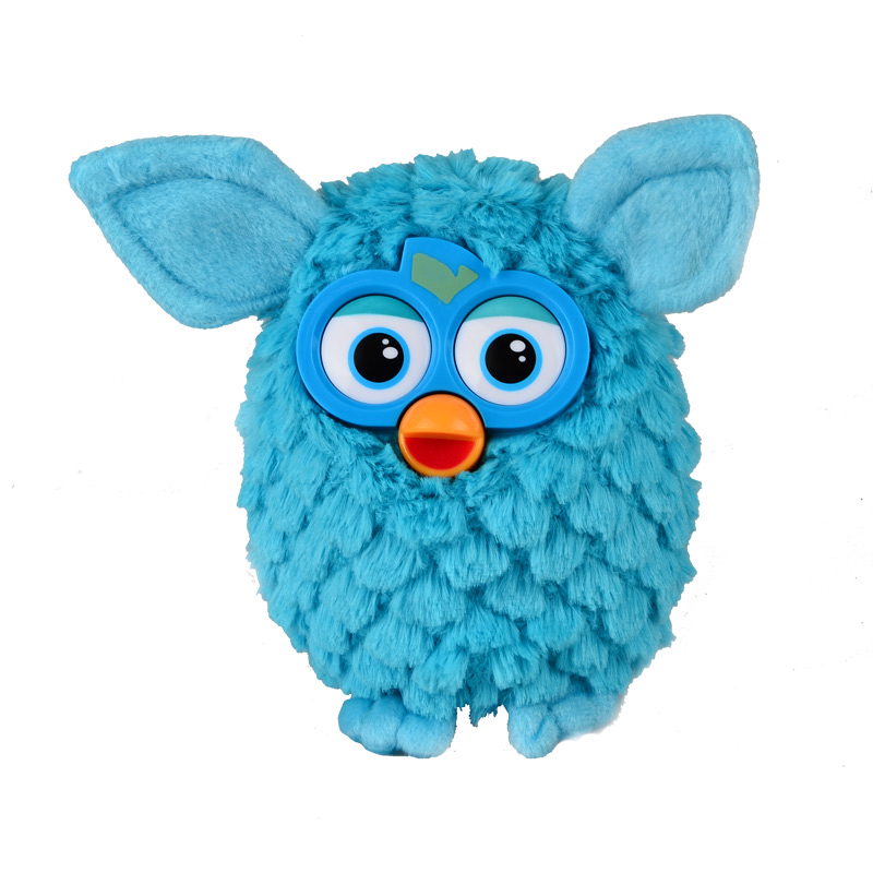 Plush Interactive Toys New 2015 Electronic Robotic Phoebe Electric Pets Owl Hamster Recording Talking Child Gift, 17cm(China (Mainland))