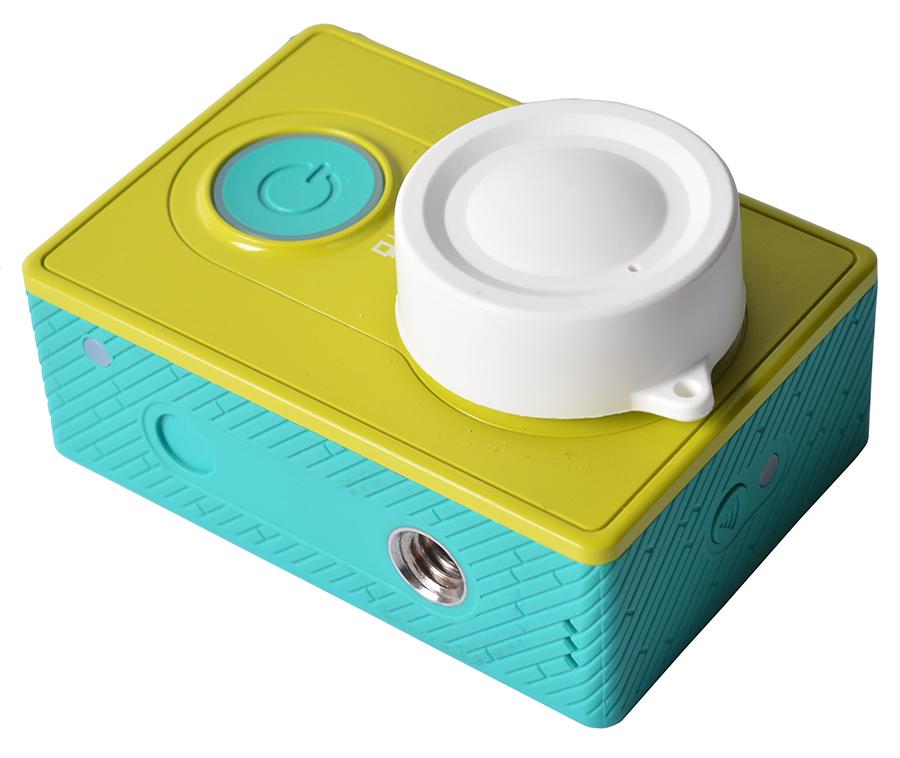 Upgrade Dust proof Camera Lens Cover Cap for xiaomi yi Protect Lens Cap Cover for Original