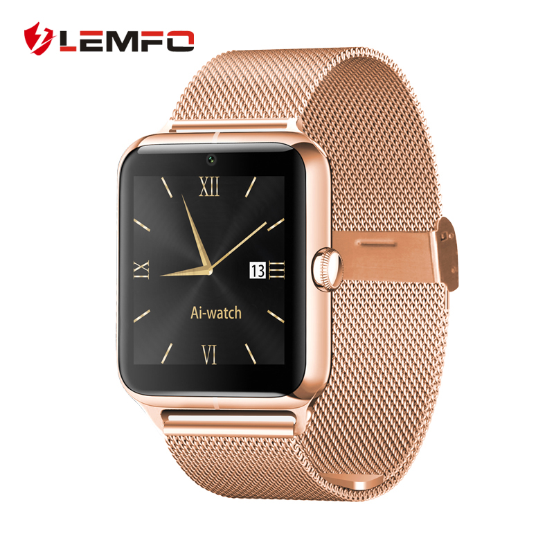 Lemfo LF11 Bluetooth Smart Watch Phone 2G Internet NFC Support SIM TF Card Wearable Devices SmartWatch For Apple Android New