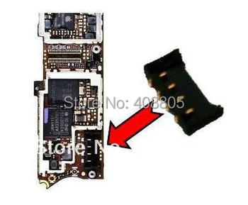 200pcs/lot, Original new For iPhone 4 4G battery FPC connector contact clip  on mother board, HK free ship