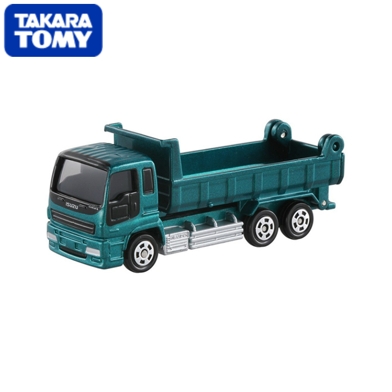 TOMY CAR No.76 ISUZU GIGA DUMP TRUCK 1/60 Matchbox (Silver Mica Metalic) Diecasts Vehicle(China (Mainland))