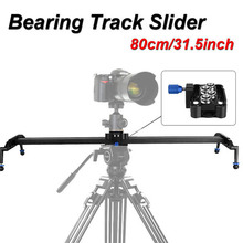 "Buy 80cm/31"" DSLR Camera Track Dolly Slider Video Rail System Photograph Movie Film Making Nikon Canon Pentax Sony SLR Camcorder for $88.21 in AliExpress store"