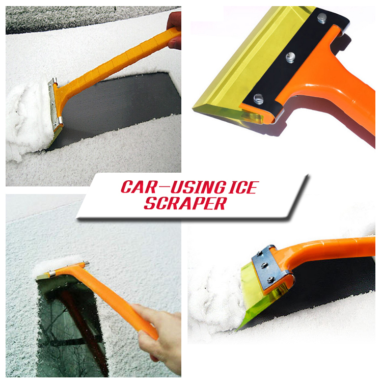 Quallity & durable snow shovel scraping skillet tendon car wiper de-icing snow board automotive tools car Ice Scraper(China (Mainland))