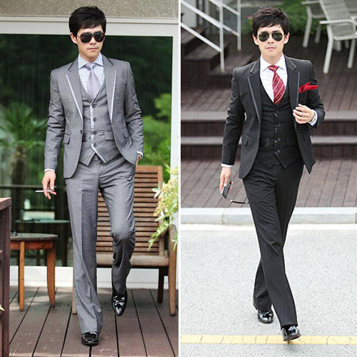 3 Piece Mens Suits Sale Dress Yy