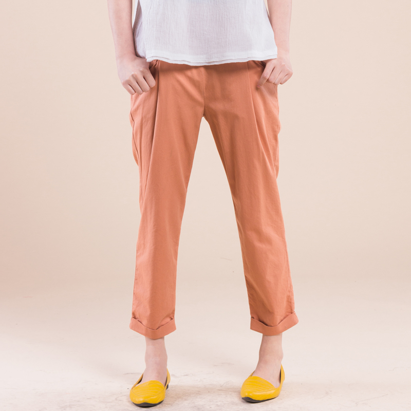 Free Shipping! 2014 Summer Loose Plus Size Clothing Simple Comfortable Pants Casual Ankle Length ...