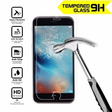 ON sale 0.26mm Super Thin Clear Front Tempered Glass For iphone 4 5 6S plus Screen Protector Protective Glass Film 2.5D Cruved