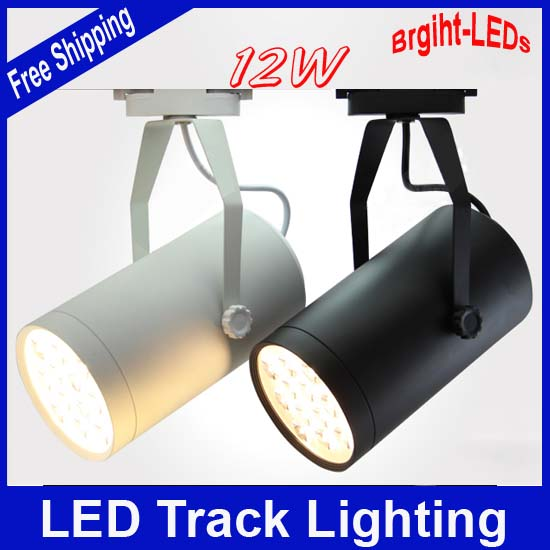 Free Shipping  Bright-LEDs  12W 230V led track lighting Aluminum body innovative items rail light Best Price<br><br>Aliexpress