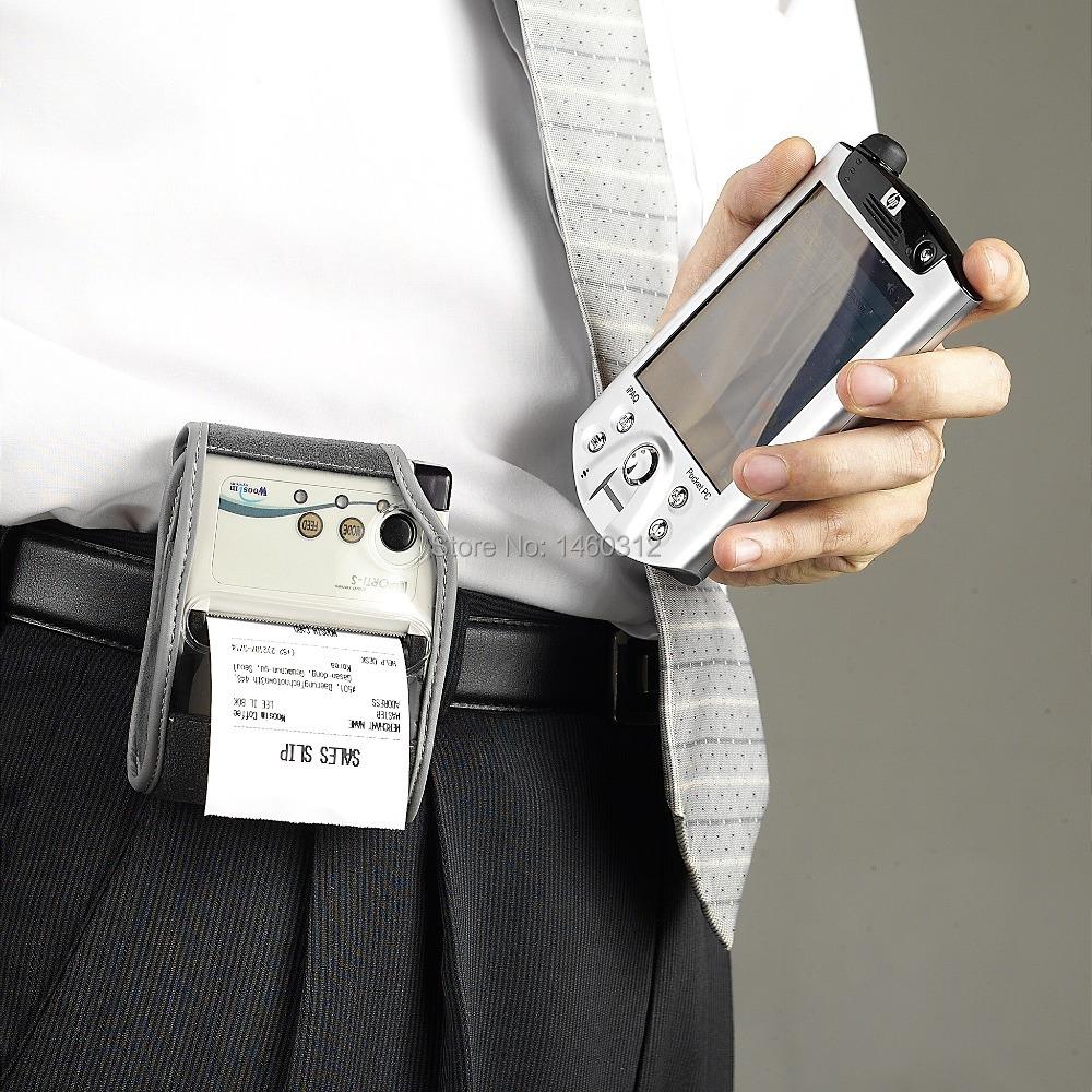 bluetooth thermal parking ticket machine 58mm mini printer WOOSIM PORTI-S3/40(China (Mainland))
