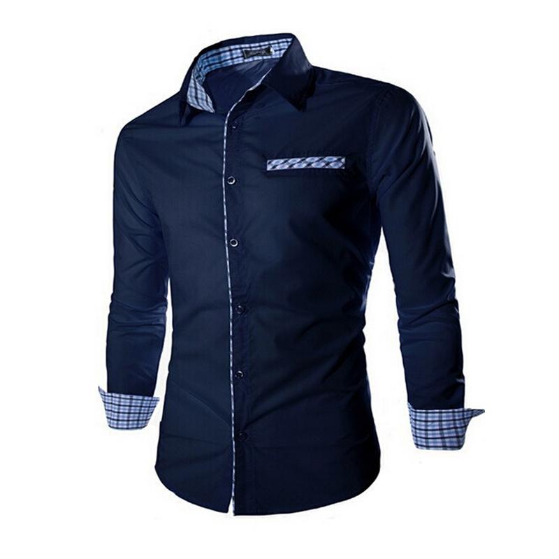 Mens blouse shirts blue denim blouses for Unusual shirts for men