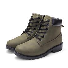 2018 ใหม่ฤดูใบไม้ร่วงต้นฤดูใบไม้ร่วงผู้หญิงรองเท้าส้นรองเท้าแฟชั่น Keep ผู้หญิงอบอุ่นยี่ห้อผ...(China)