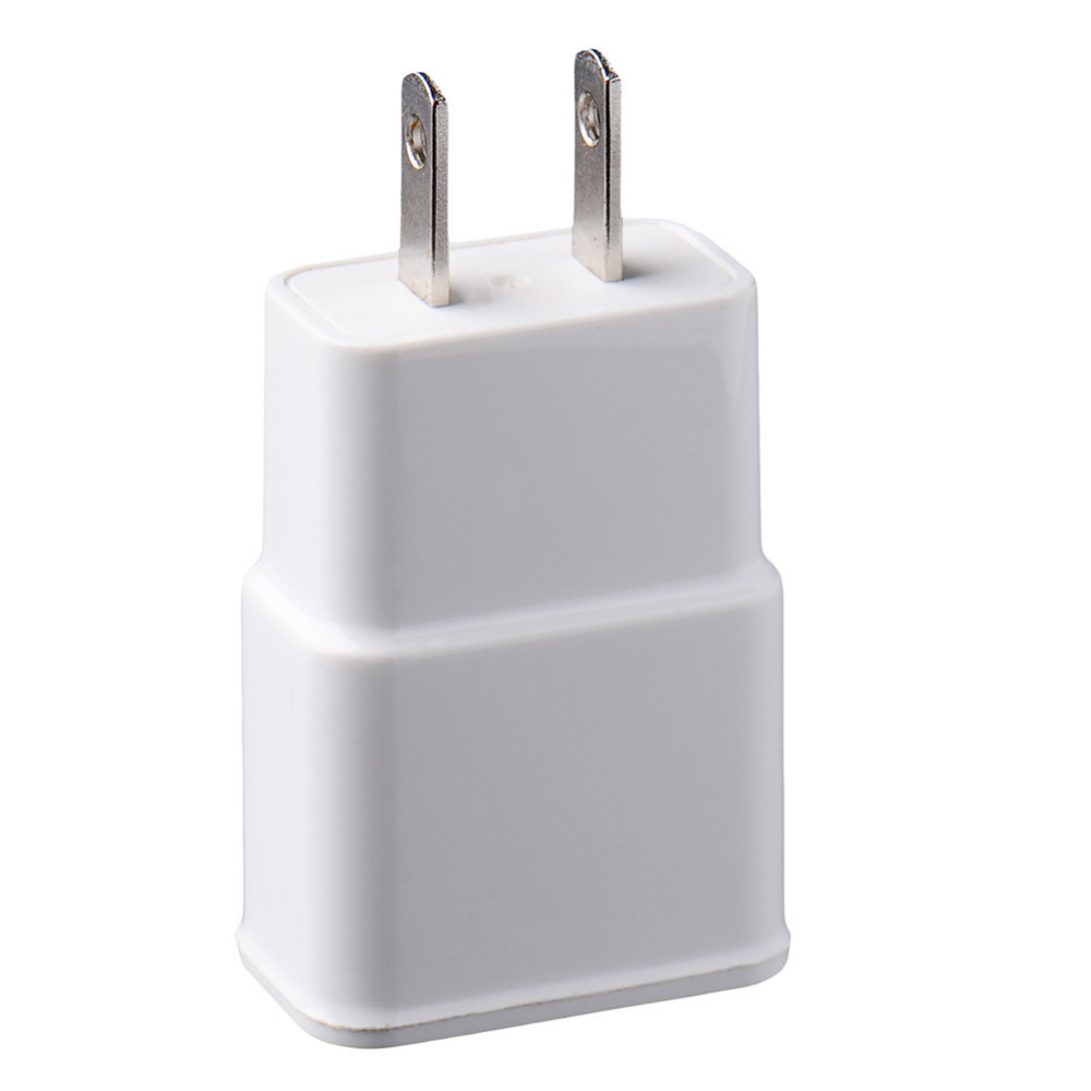 EU US Dual USB 2A Wall  Charger Micro Data Charging USB Adapter for Iphone 6 6s 6plus for Samsung Xiaomi Travel Charger