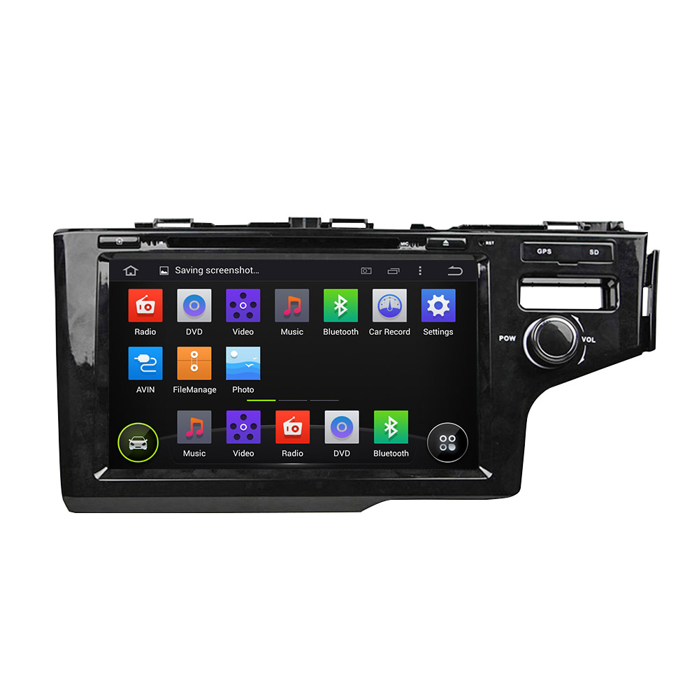 Pure Android 5.1 System Car DVD GPS Navigation System for Honda Fit 2014 (right hand steering)(China (Mainland))