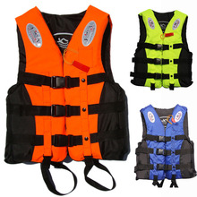 2014 popular child and adult professional life vest life jacket fishing swim vest, with belt and whistle,free shipping(China (Mainland))