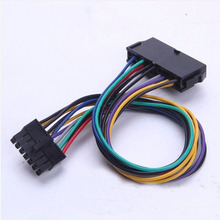 PC DIY ATX 24Pin 24P TO 14Pin 14P Power Supply Cable Cord 18AWG Wire For Lenovo Q77 B75 A75 Q75 Motherboard Mainboard 30cm
