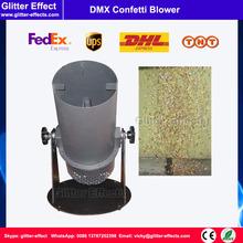 Buy DJ stage special effect wedding celebration mini color paper blower disco club bar small confetti cannon machine for $278.00 in AliExpress store