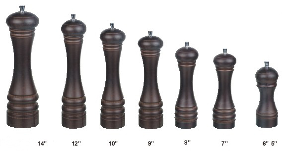 Hotel Chef Specialties Walnut Finish Wood Pepper Mill Cooking Tools(China (Mainland))
