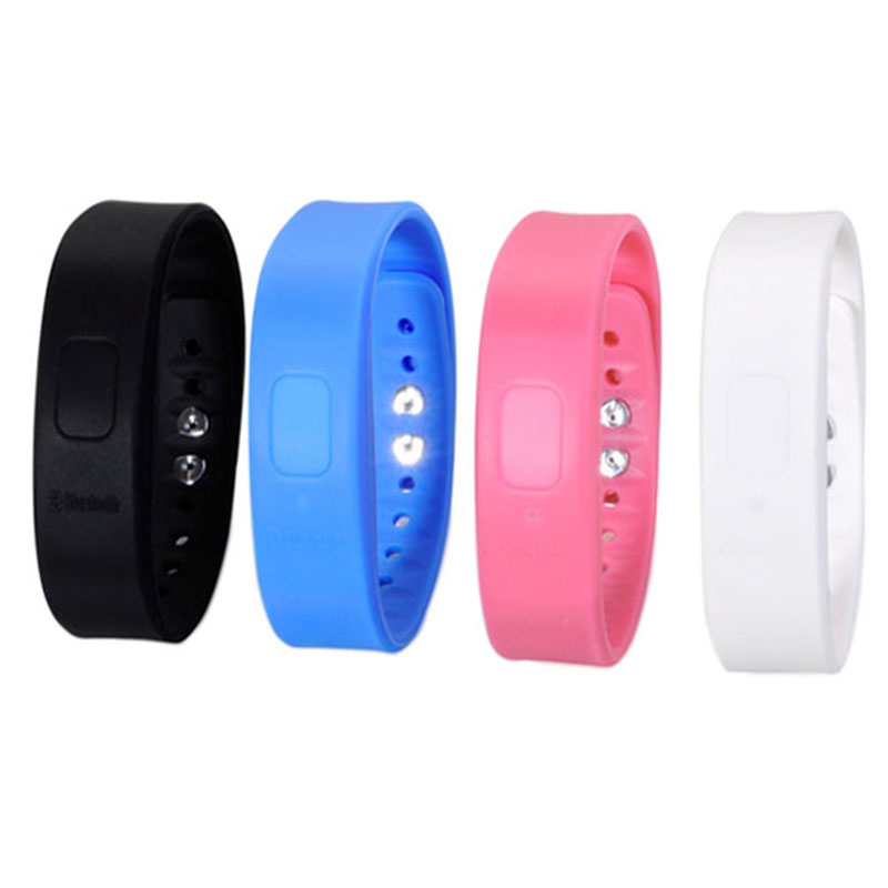 Smartband Bluetooth Bracelet Vibrating Alert Buzz Alarm Call For celular iPhone 5 5S Android xiaomi-mi4 Smart Bracelet Wristband(China (Mainland))