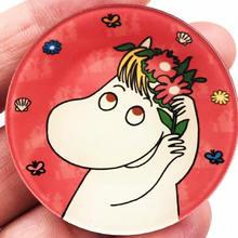 Vendita calda 1PCS Unicorno Cartone Animato Icone Zaino Sacchetto Spille Spilli Per Abbigliamento Acrilico Distintivi e Simboli di modo delle ragazze delle donne di Nuovo arrivo(China)