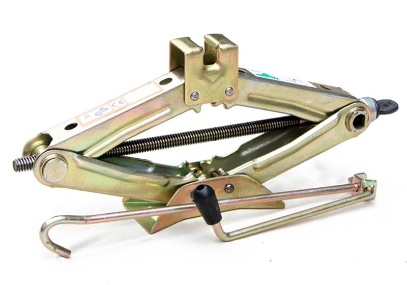 Thick hand- car jack 1.5 t scissor jacks essential car emergency(China (Mainland))