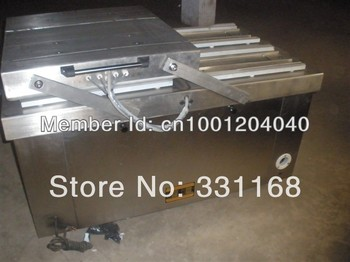 Food double chamber vacuum packaging machines