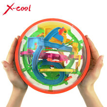 XC925A 2015 New Big Magic Puzzle Ball Educational Magic Intellect Puzzle Game Magnetic Balls for Kids-138 Steps(China (Mainland))