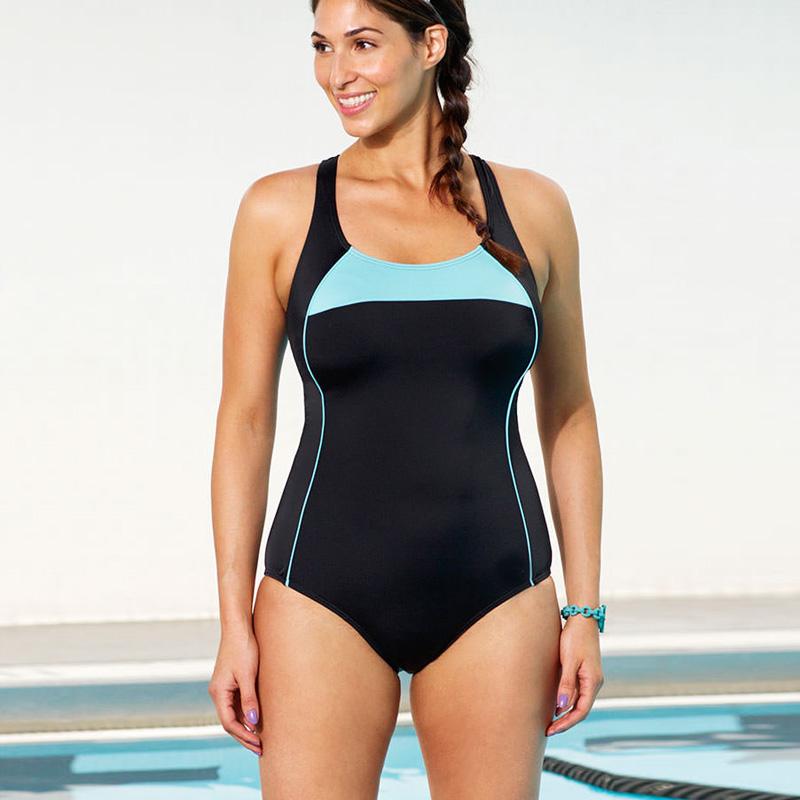 2016 one piece swimsuit underwire women's swimwear sky ...