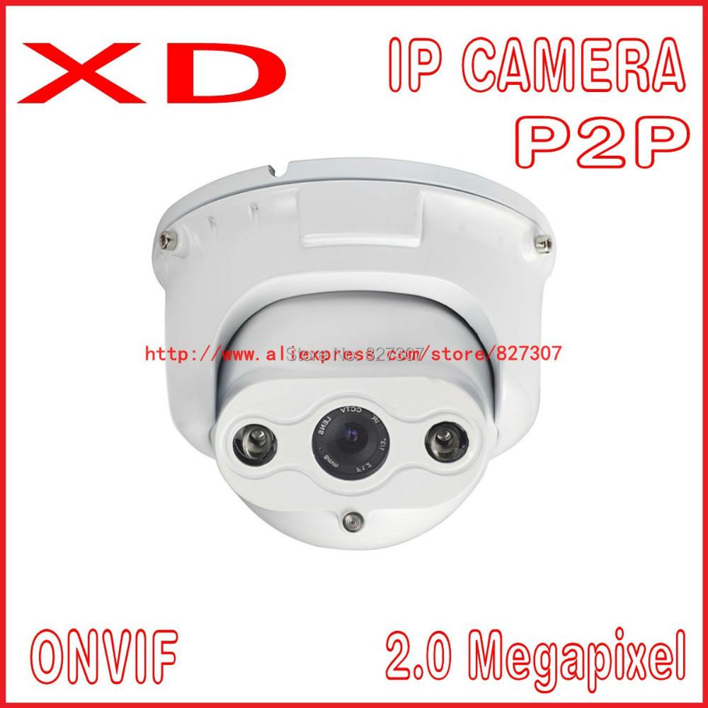 2.0 MP indoor & outdoor IP Camera 1920*1080p
