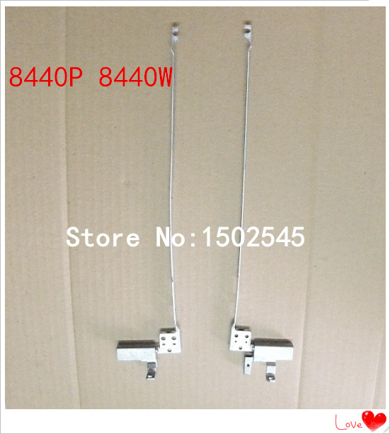 Free shipping genuine new original laptop hinges for HP Elitebook 8440P 8440W AM07D000500 AMO7D000600 notebook hinge(China (Mainland))