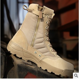 Military Tactical Magnum Combat Outdoor Sport Army Men Boots Desert Boats Hiking Autumn Shoes Travel Leather High Boots Male(China (Mainland))