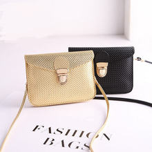 17*12.5CM Phone small bag Fashion Diamond Lattice  women messenger bags trend mini shoulder bag can hold iphone 6/6s