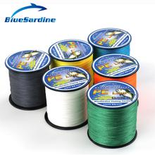 300M Multifilament PE Braided Fishing Line Super Strong 4 Strands Braid Fishing Wires 12LB - 90LB(China (Mainland))