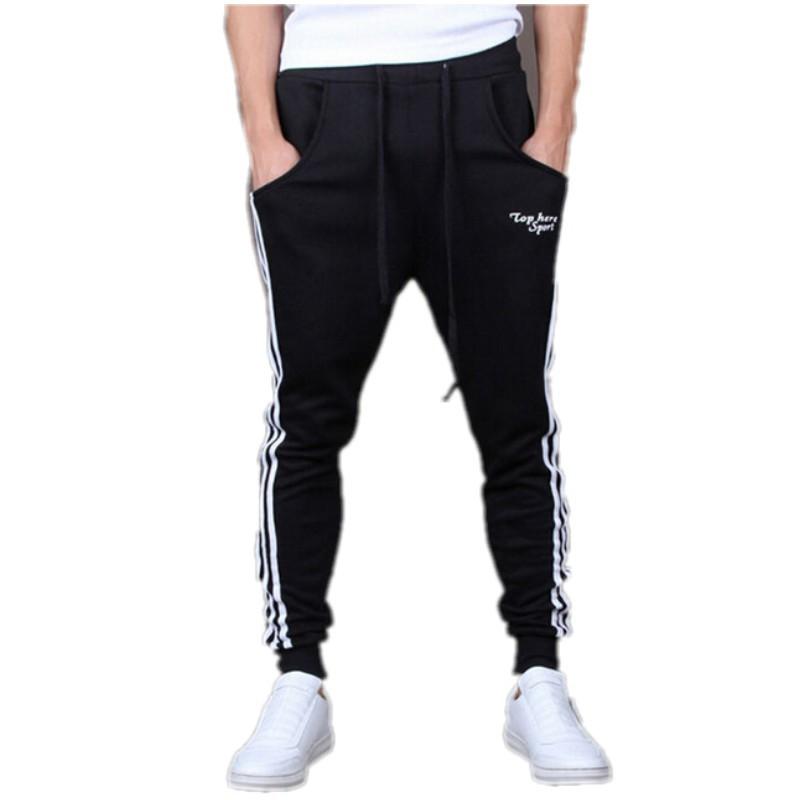 Outdoors Cargo Loose Trousers Men Sweat Harem Sport Joggers Pants Hip Hop Slim Fit Sweatpants for Dance Sports Pants BZ850794(China (Mainland))