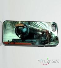 For iphone 4/4s 5/5s 5c SE 6/6s plus ipod touch 4/5/6 back skins mobile cellphone cases cover Harry Potter Hogwarts Train