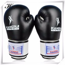 High-Quality-PU-Leather-Fabrics-10oz-Boxing-Gloves-Muay-Thai-Fighting-Wearable-Breathable-For-Training-Free