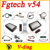 2015 Latest Version V54 FGTech Galletto 4 Master BDM-Tricore-OBD Function FG Tech ECU Programmer with Multi-langauge