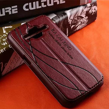 Business double windows Leather Case For Samsung Galaxy Core Prime G360 Ace 4 Lite Neo Grand 2 win i8552 Trend Plus S3 neo prime(China (Mainland))