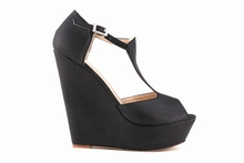 new 2015 summer fashion suede shoes woman sexy ultra high heels platform pumps women's wedges shoes T-Strap pumps391-1SUEDE
