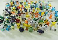 Cute Pokemon Monster Mini figures toys 144pcs/Lots Pokemon Action Figures 2-3cm toys for children