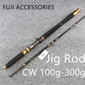 Free Shipping 1 83m 2 Section Jigging Rod Fishing Rod FUJI REEL SEAT AND RING Jig