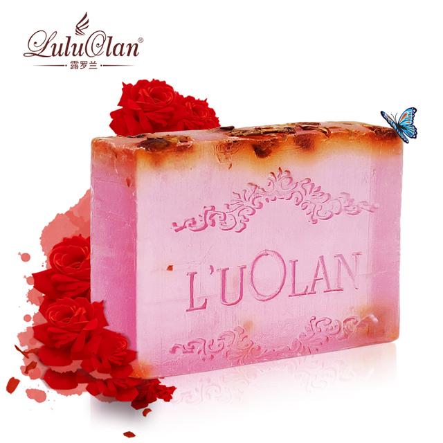 Rose handmade soap natural essential oil soap full-body moisturizing whitening moisturizing bath soap whitening soap