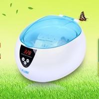Ultrasonic clean machine ultrasonic bath household glasses jewelry watch razor dentures cleaner 1017